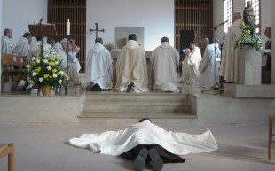 Profession religieuse au Couvent d'Avon